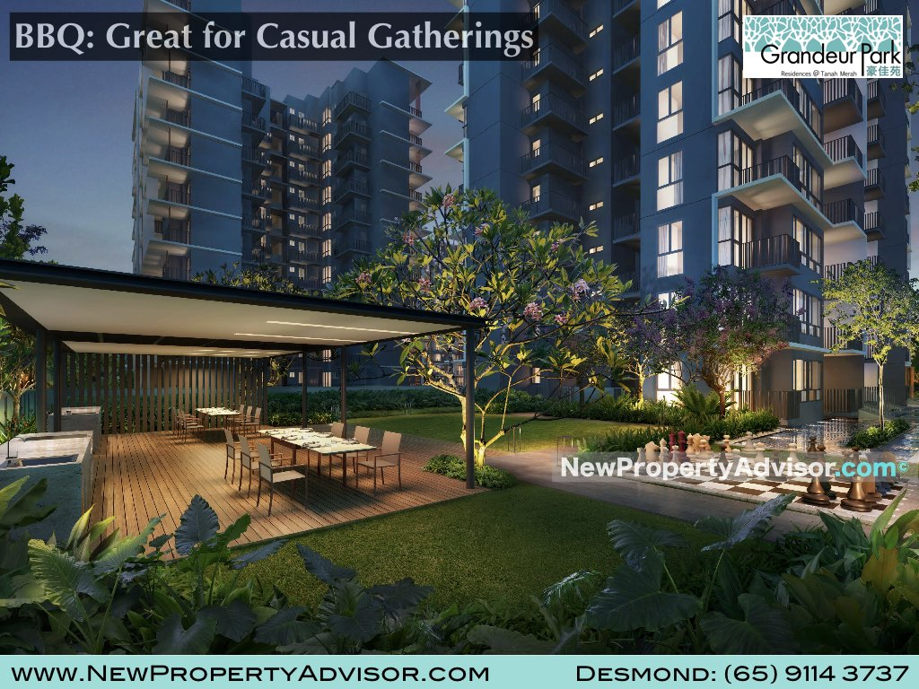 BBQ granduer residences singapore