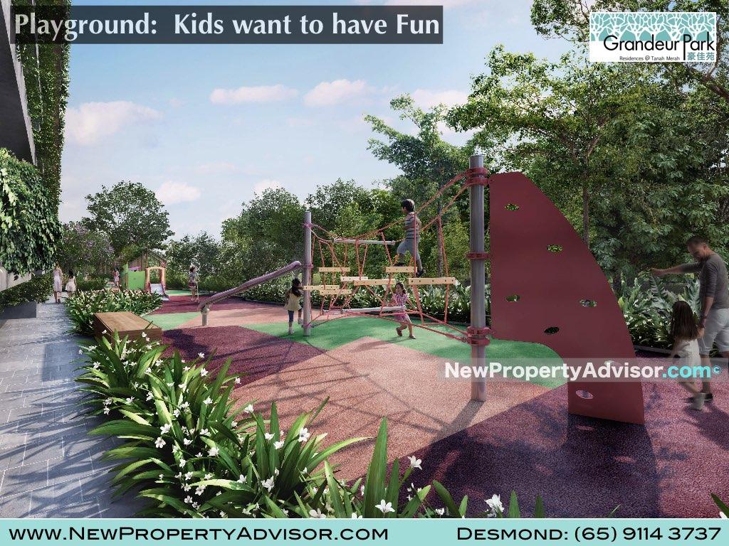 children playground grandeur park singapore