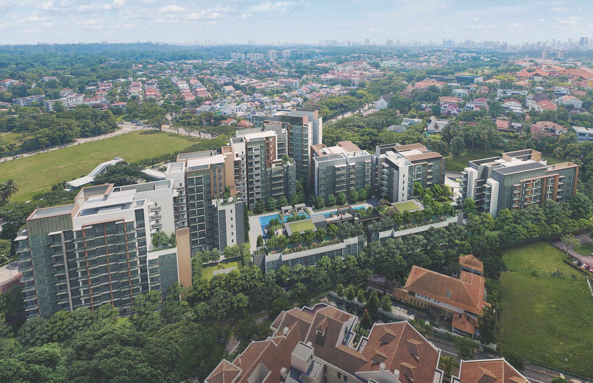 4th Ave Resi - Aerial_View