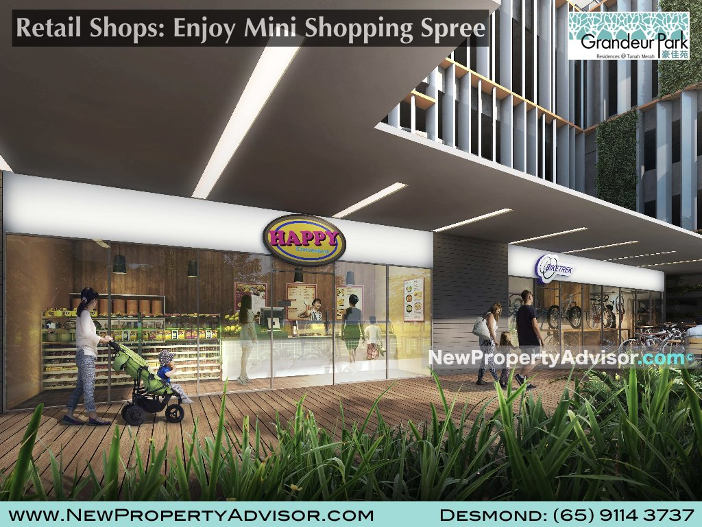 retail shops grandeur park residences