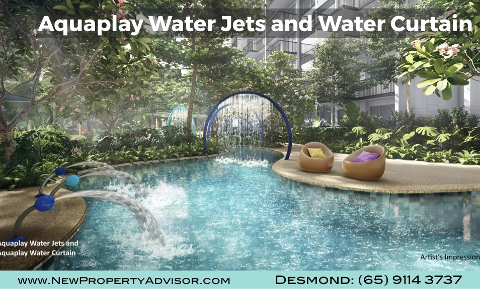 Florence Residences Aquaplay Water Jets