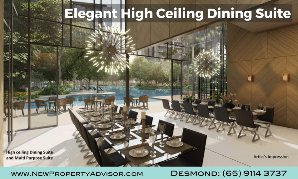 Florence Residences Dining Suite