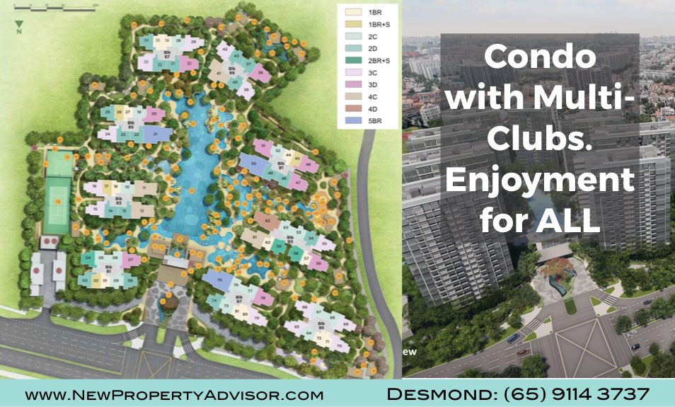 Florence Residences Singapore Condo with multi clubs