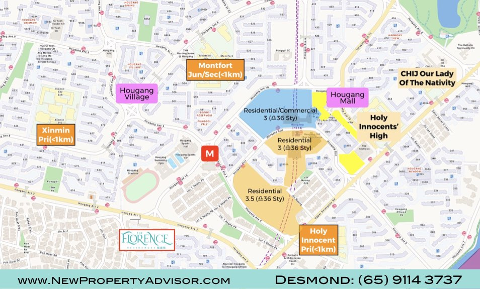 Florence Residences Singapore Location.025
