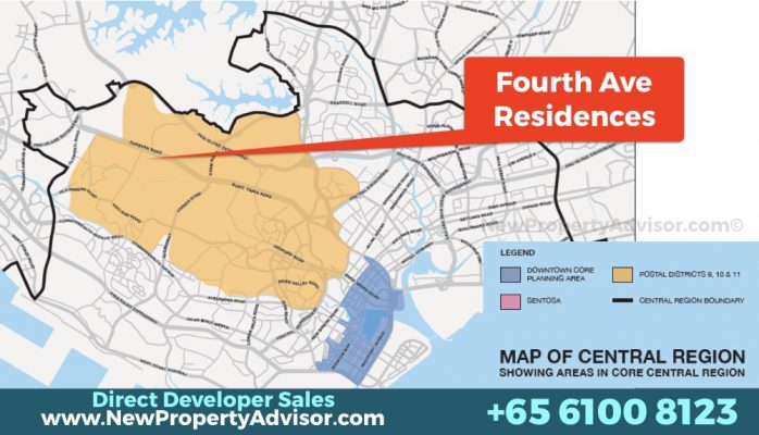 Fourth Avenue Residences district 10.001