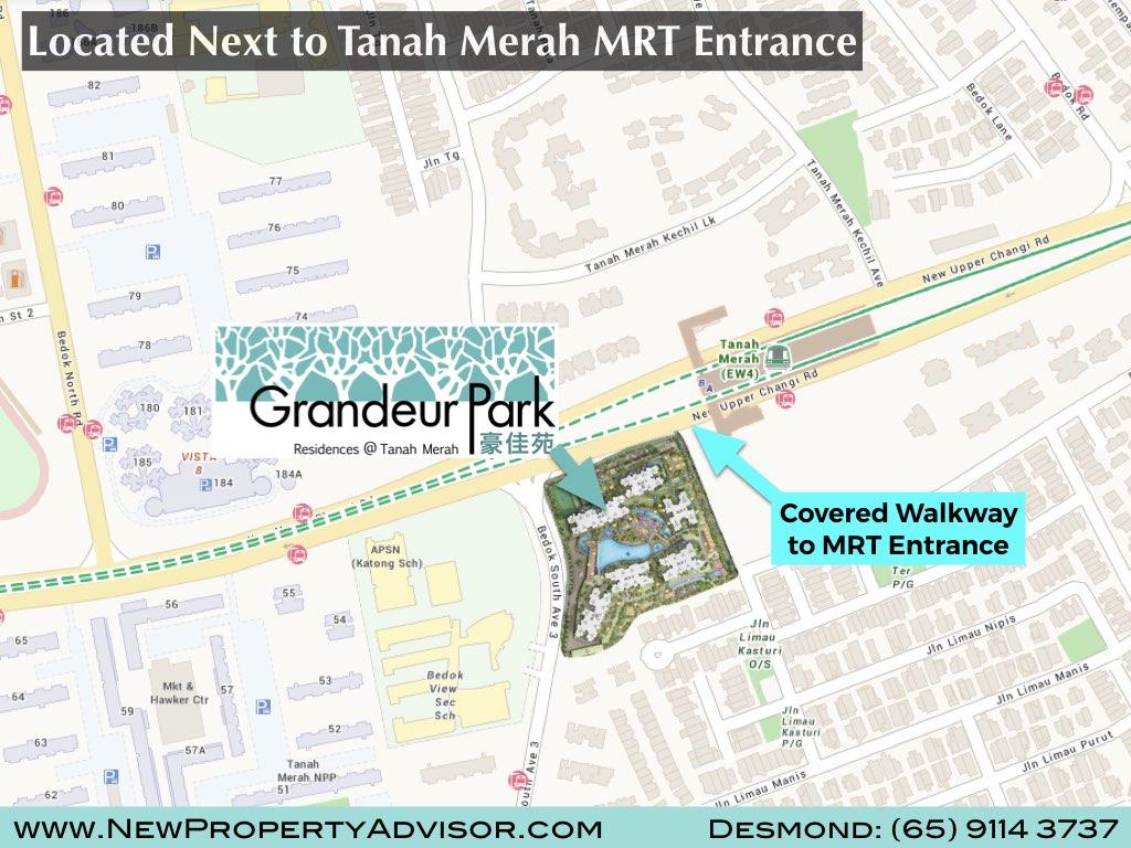 Location Grandeur Park Residences