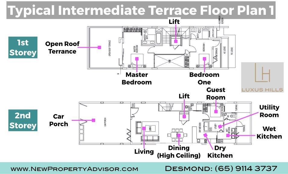 floor plans luxus hills
