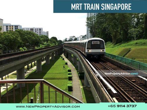 MRT Train Singapore