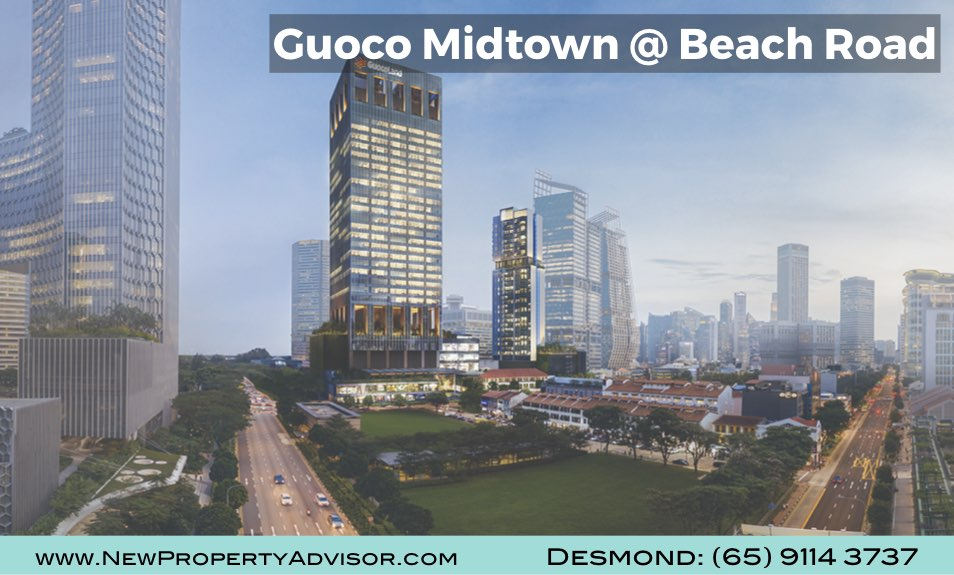 Midtown Bay Guoco Singapore at Beach Road
