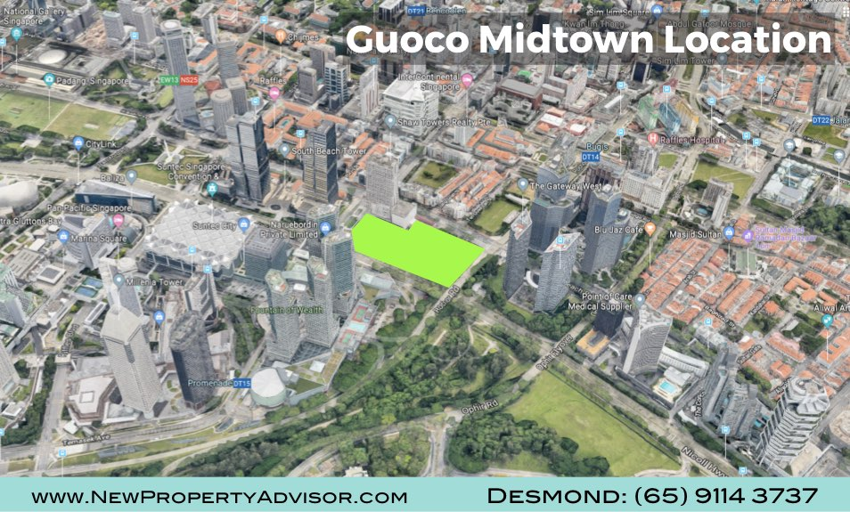 Midtown Bay Guoco Singapore near Suntec