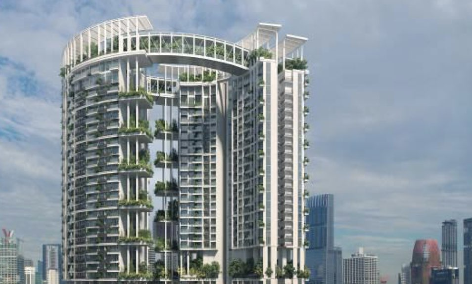 One Pearl Bank Condo Singapore Gardens in Sky.