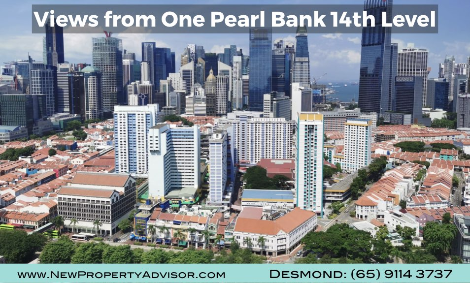 One Pearl Bank Singapore Views from Unit.001