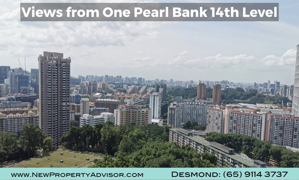 One Pearl Bank Singapore Views from Unit.002