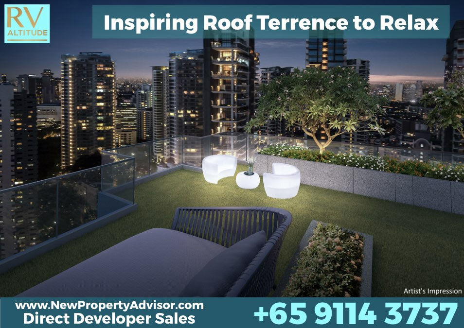 RV Altitude River Roof Terrace