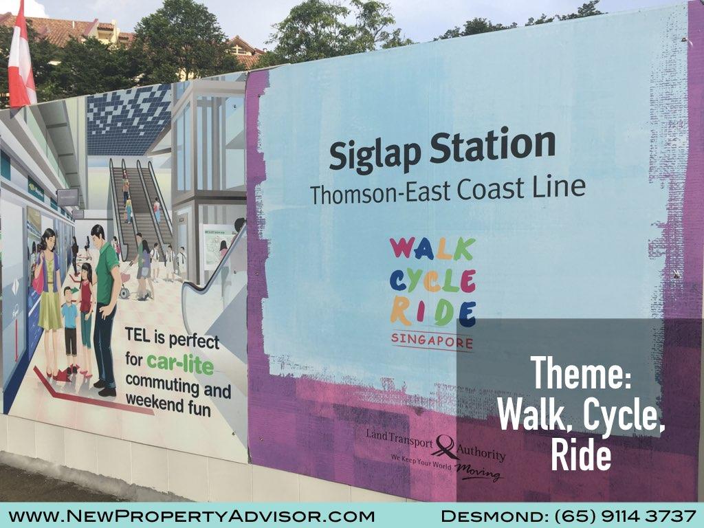 Siglap MRT Walk Cycle Ride