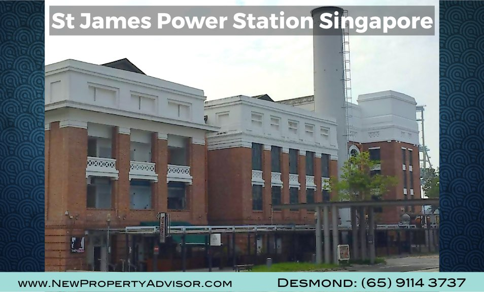 St James Power Station Singapore