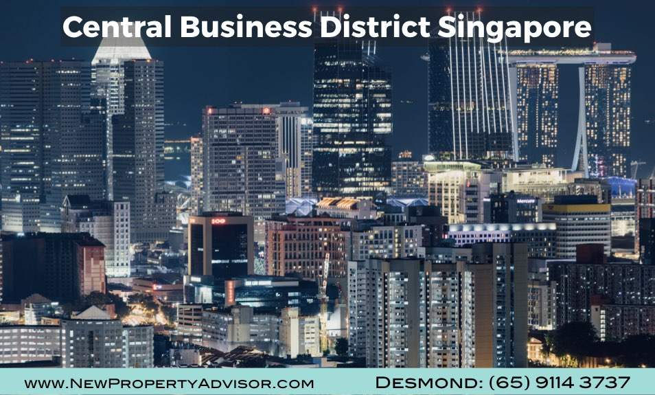 central business district signapore