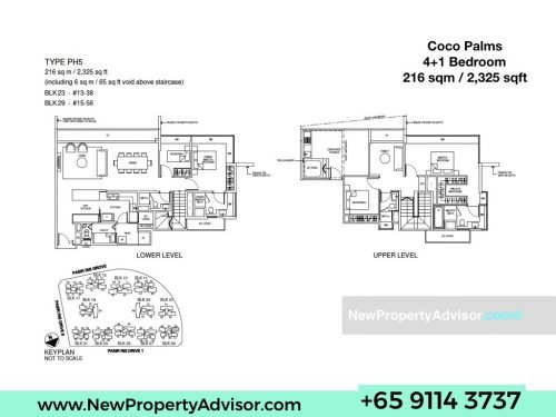 coco palms penthouse floor plan Singapore.001