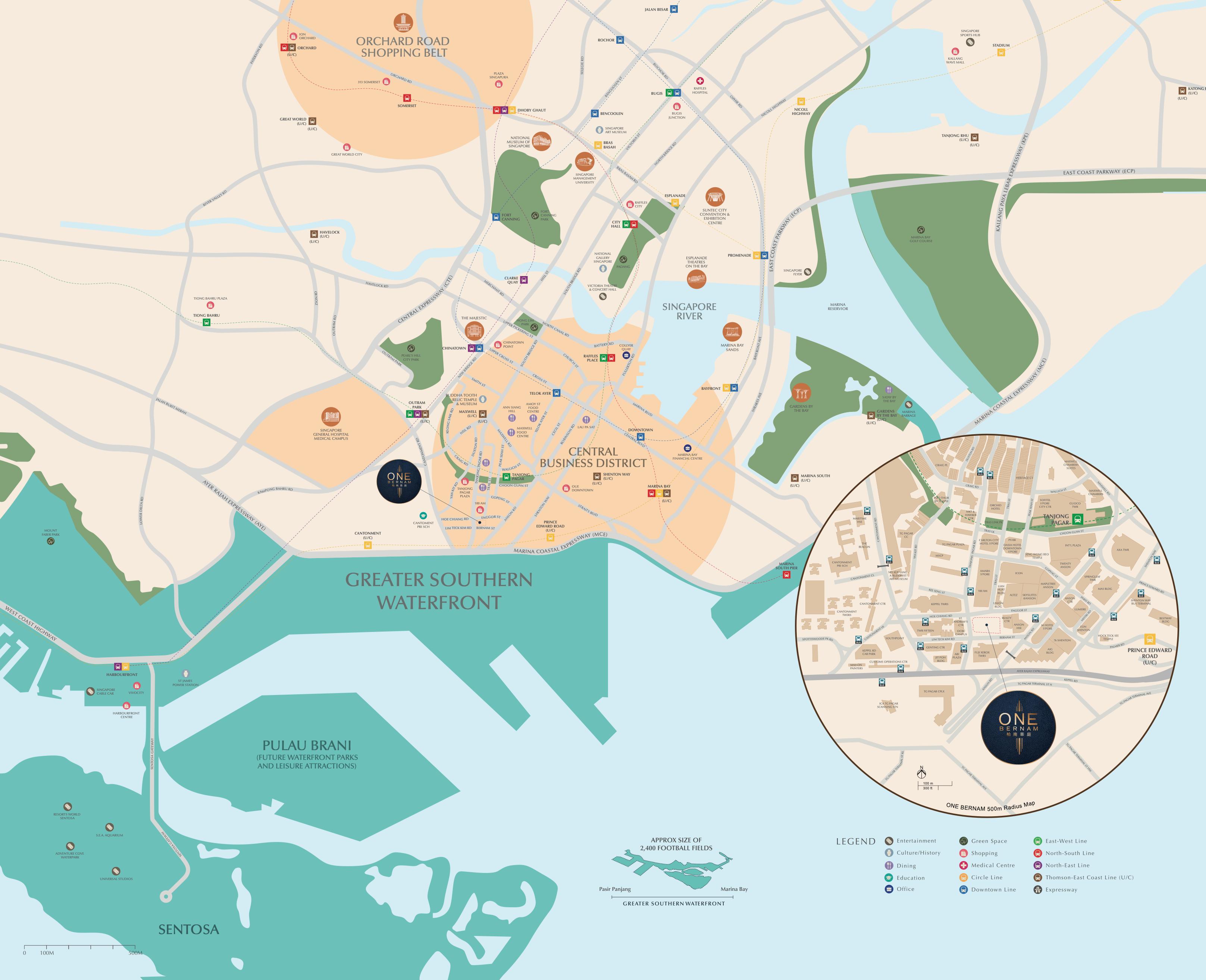 one-bernam-singapore-location-map