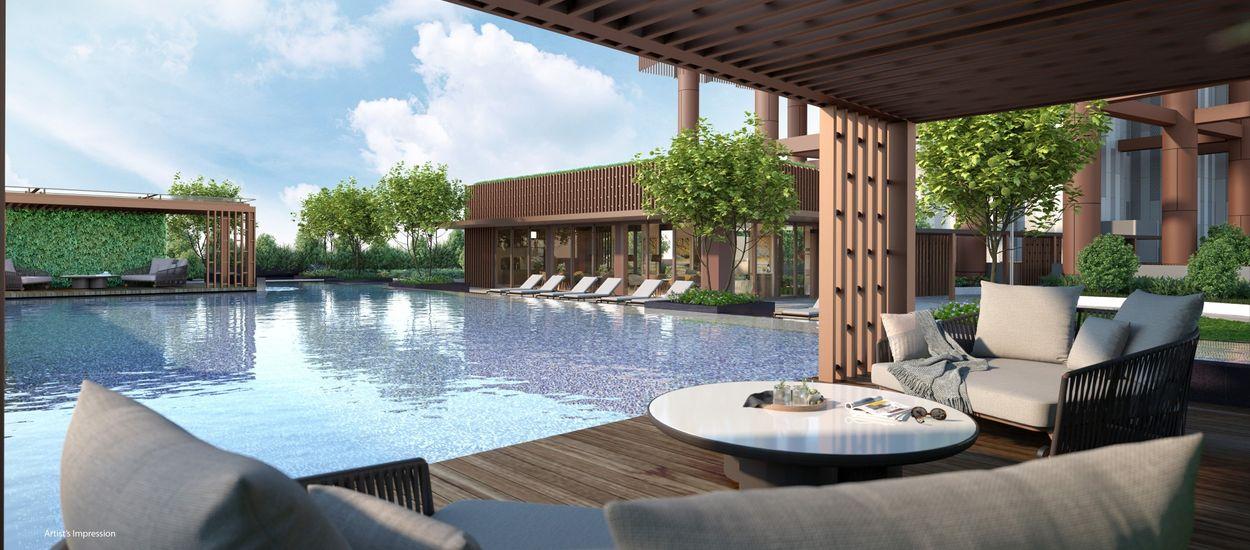 One Bernam Pool Pavilion